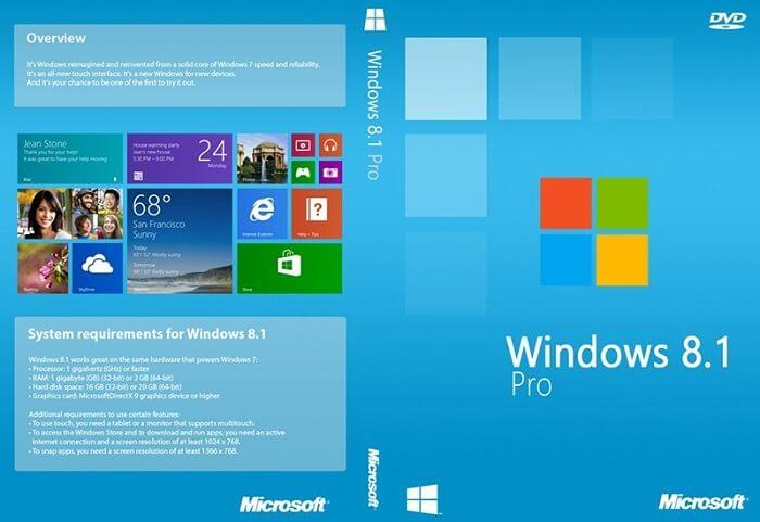 Hệ điều hành Win 8.1