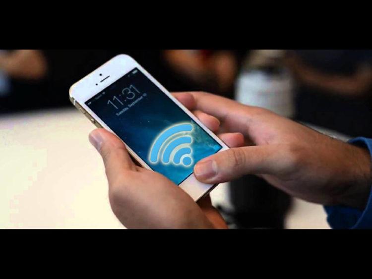Tắt wifi trên điện thoại sau 1-2 phút thì bật lại.
