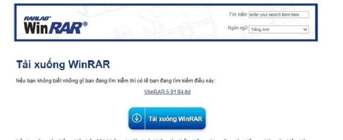Sử dụng phần mềm Winrar để khóa Folder trên máy tính