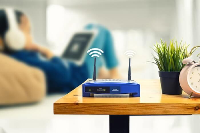 Kiểm tra lại vị trí đặt bộ phát Wifi